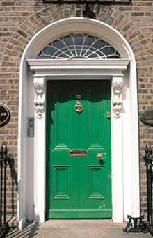 A front door in Clapham