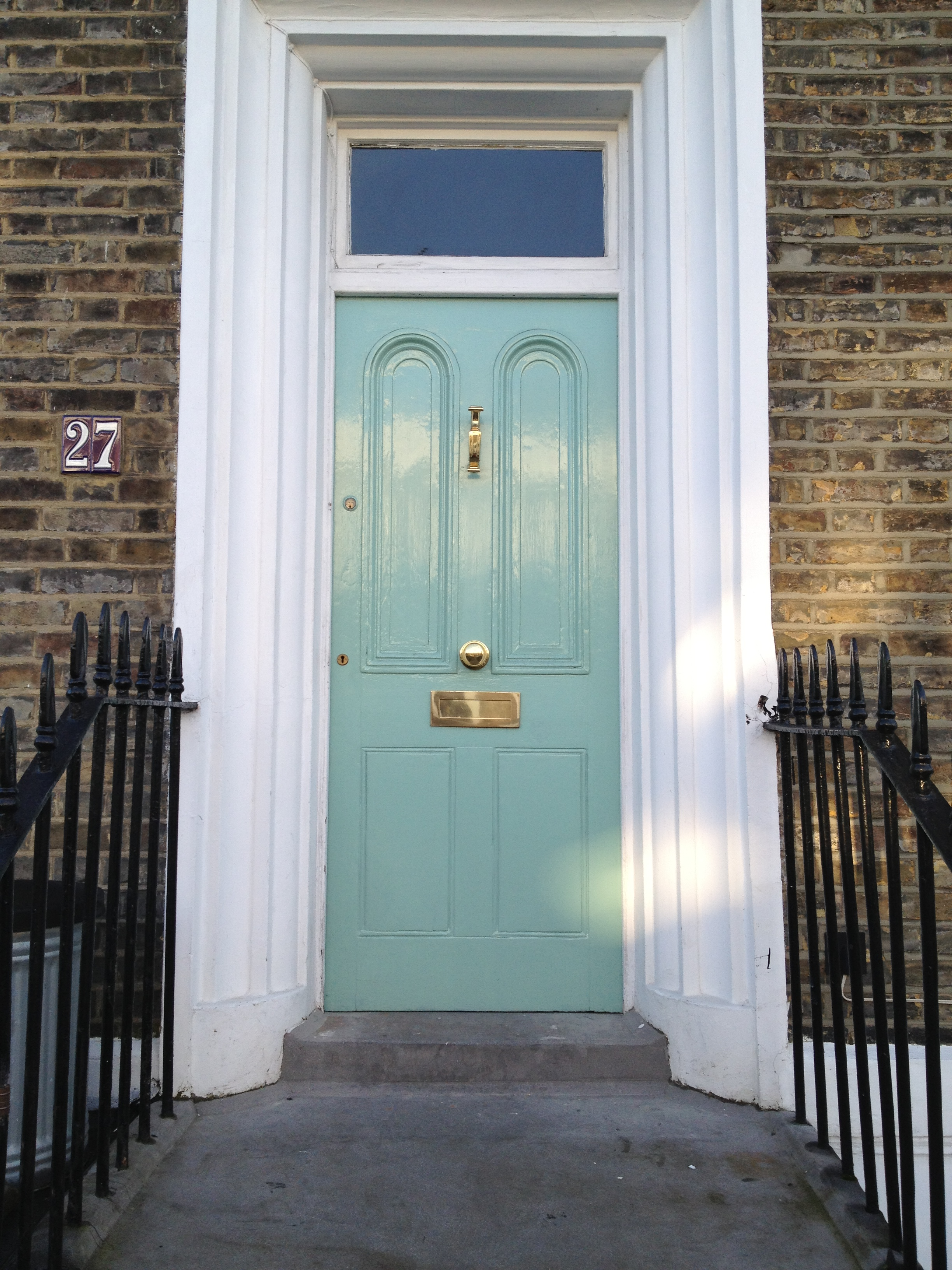 Front door colours voysey jones for Door design and colour