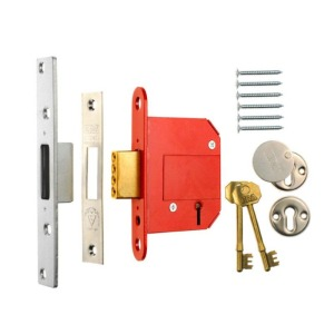 A five lever mortice lock