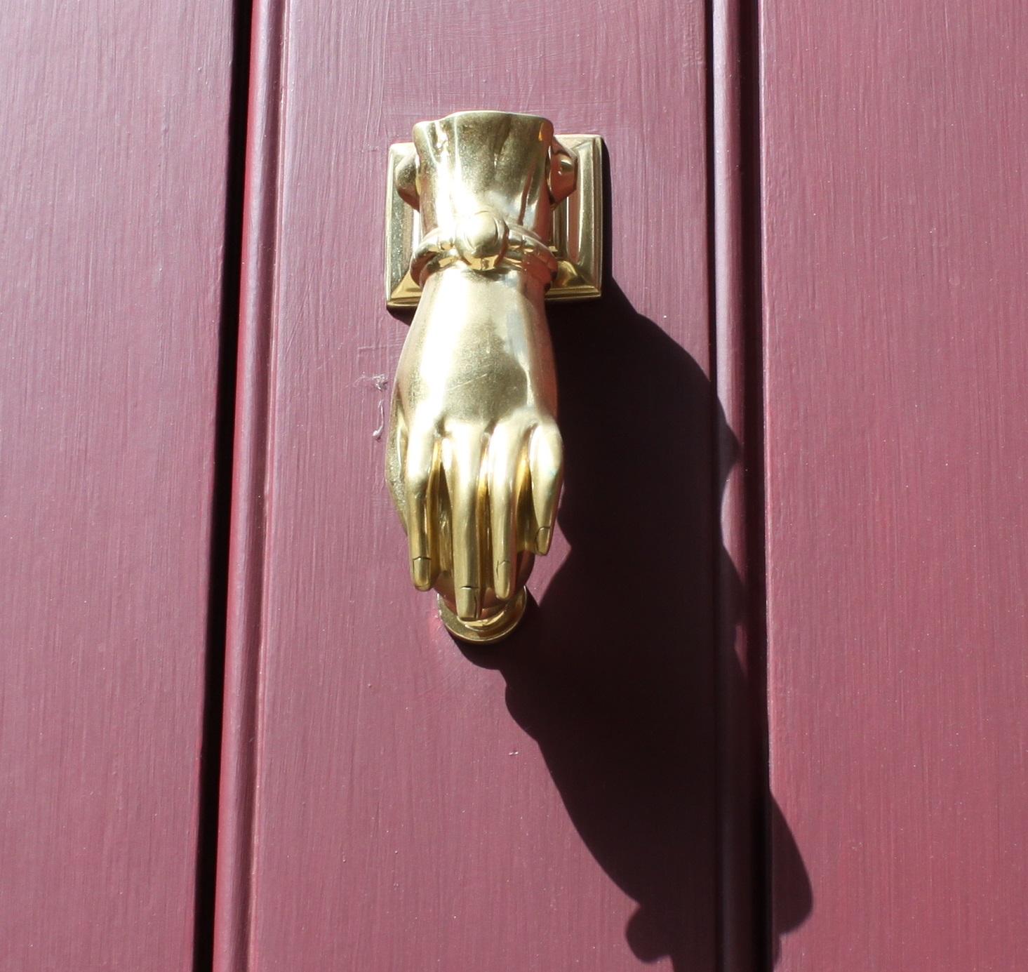 Lady S Hand Door Knocker Voysey Jones