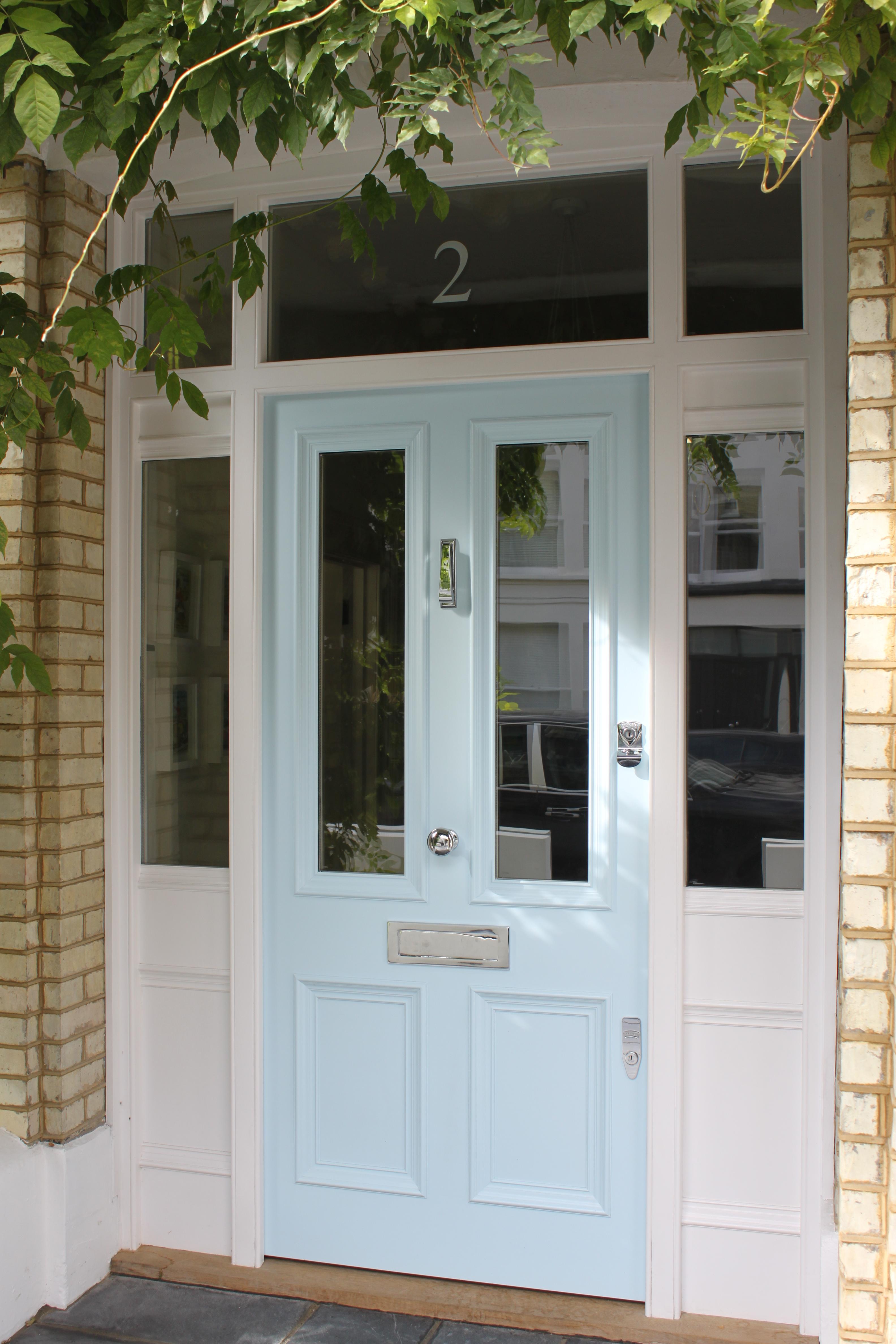 Victorian front door voysey jones for Victorian doors